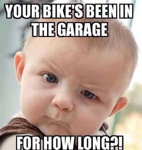 Funny Motorcycle Meme - are you customizing it or something lhh d www