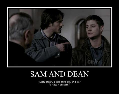 Supernatural Funny Memes - image detail for funny sam and dean 3 by thraxey on deviantart supernatural 175 ツ 175