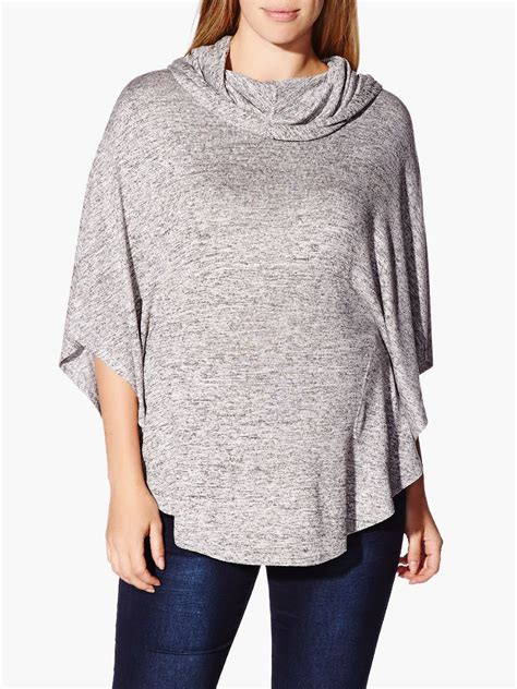 Maternity Hooded Sleeve Dress 3 4 sleeve hooded maternity poncho sweater thyme maternity