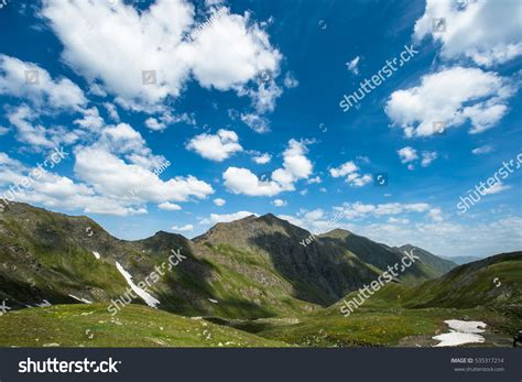 sunny day in the mountains a mountain of the alps switzerland before sunny day mountains stockfoto 535317214 shutterstock