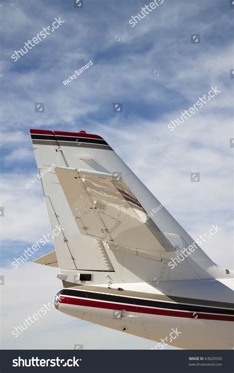 tail section of an airplane jet airplane tail the tail section of a private jet