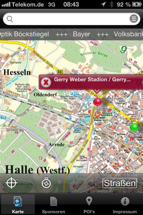 Motorrad Online App Für Android by Kostenlose Smartphone App Erg 228 Nzt Den Papier Stadtplan