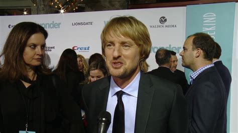 wonder nate actor wonder premiere owen wilson interview youtube
