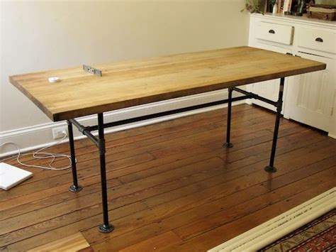 Diy Pipe Desk For The Love Of Diy Pinterest Diy Pipe Desk