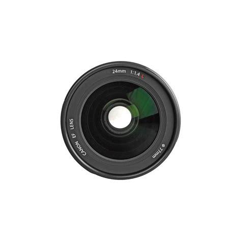 Canon Lensa Ef 24mm F 1 4 L Ii Usm canon ef 24mm f 1 4l ii usm wide angle lens