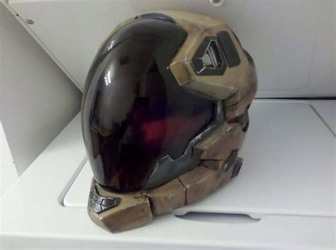 How To Make A Halo Helmet Out Of Paper - nick nack patty wack halo reach pilot helmet by