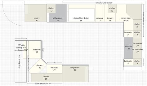 Straight Line Kitchen Designs by Tag For 12 X 12 Kitchen Layout With Island Floorplans