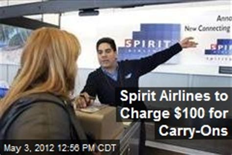 airlines that charge for carry on spirit airlines news stories about spirit airlines