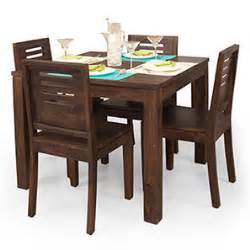 Walnut Bench Seat Dining Table Sets Buy Dining Tables Sets Online In India