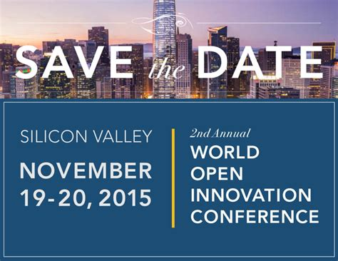 conference save the date template save the date 2nd annual world open innovation conference