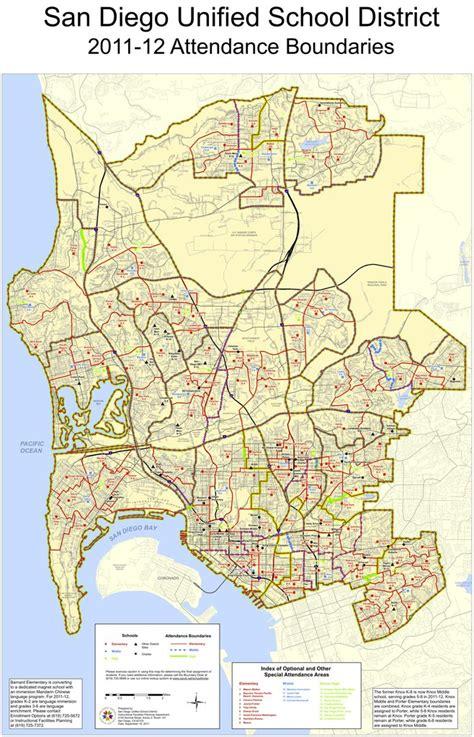 san diego school district maplets