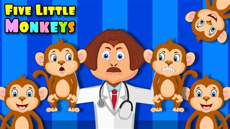 five little monkeys jumping on the bed youtube five little monkeys jumping on the bed dr gulati monkey