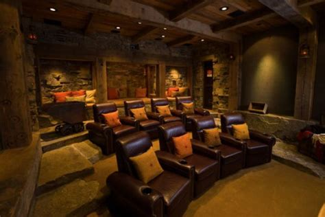 movie theater decor for the home five top tips for a cool media room