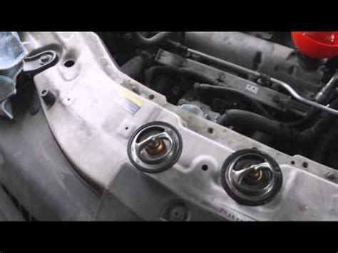 how to change the thermostat on a 2008 aston martin db9 2008 saturn vue thermostat change youtube