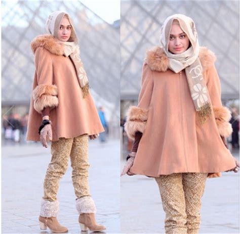 Legging Celana Panjang Wanita Musim Dingin Winter Warna Hitam 6 model busana untuk musim dingin jallosi