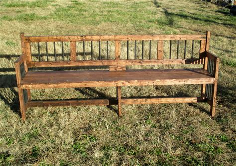 extra long reclamed wood bench rustic furniture for indoor