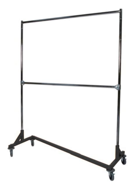 heavy duty z base rack garment clothes stand
