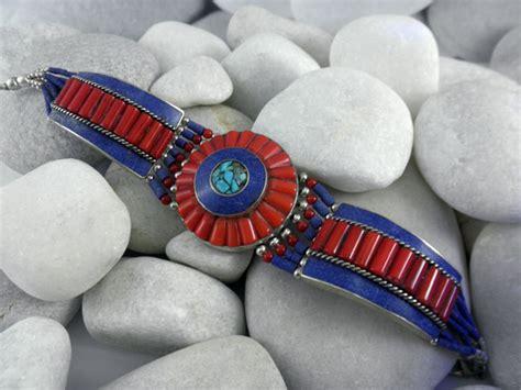 Tibetan ethnic bracelet.   59 eur.   Jewellery Ethnic bracelets   QAF Ethnic Jewellery