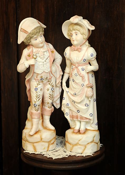 ceramic bisque in medford oregon antique bisque porcelain 14 quot boy figurines