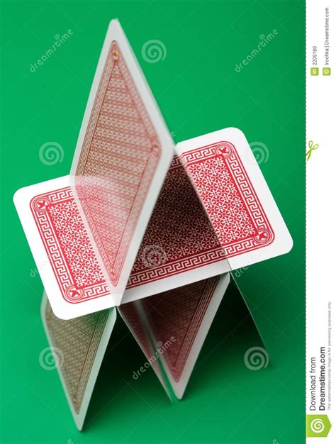 pics of cards card castle stock photo image of background play house