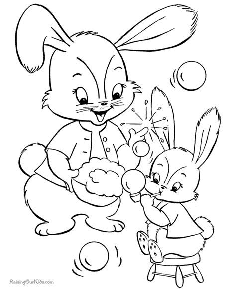 coloring pages easter bunny easter bunny coloring pages 009