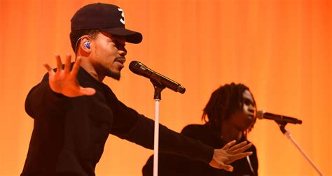 coloring book unreleased song chance the rapper debuts new unreleased song on the late
