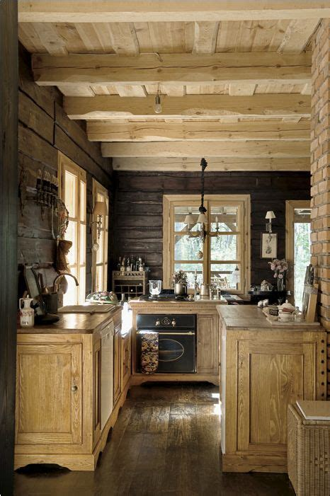 rustic kitchens kitchens and cabin kitchens on