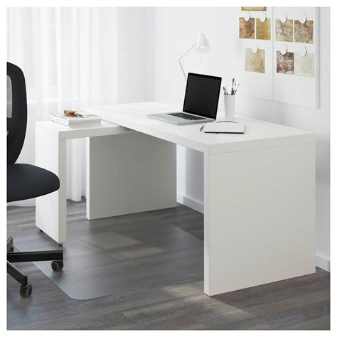malm white desk malm desk with pull out panel white 151x65 cm ikea