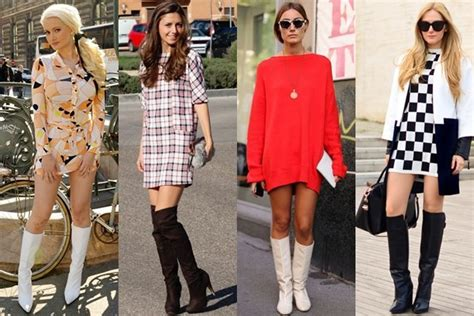 Best Flare Skirt Rok A Line Celana Fashion Korea Baju how to wear boots in various styles and heights knee high