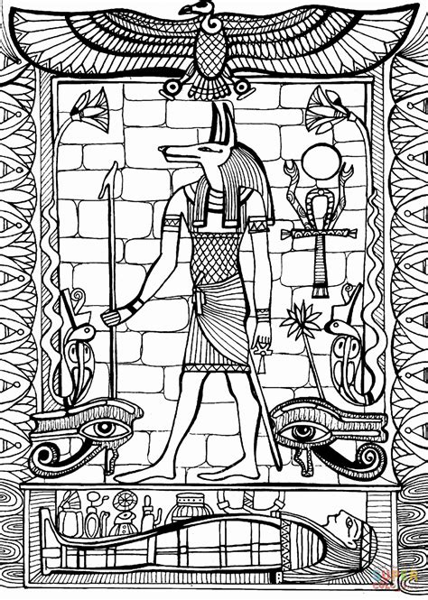 ancient egypt coloring pages to print life in ancient egypt coloring book ancient egypt