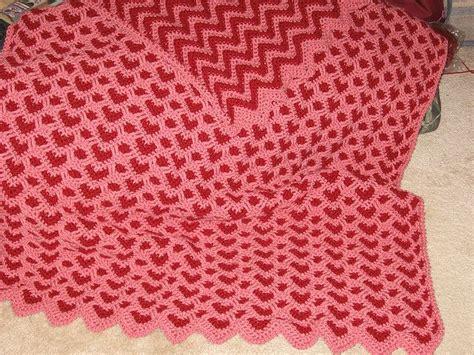 sweetheart reversible ripple afghan pattern 17 best images about sweetheart ripple afghan on pinterest