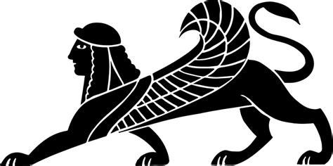 Gamis Amima Giza Black clipart sphinx silhouette