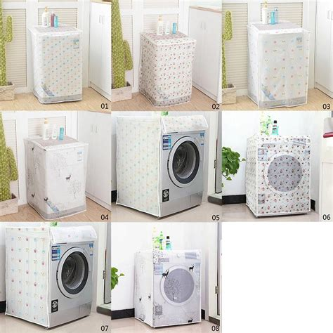 Washing Machine Dust Cover trendy washing machine dust cover protection durable