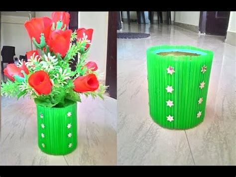 L From Waste Material by Waste Material Flower Pot
