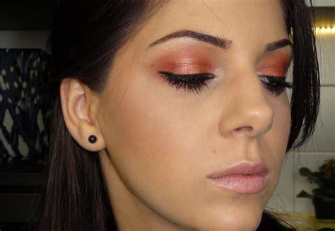 Make Up Mac Eyeshadow Copper Eyeshadow Tutorial Mac Coppering Makeup Look