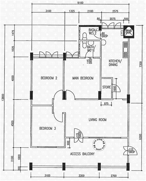 casa clementi floor plan floor plans for yishun street 22 hdb details srx property