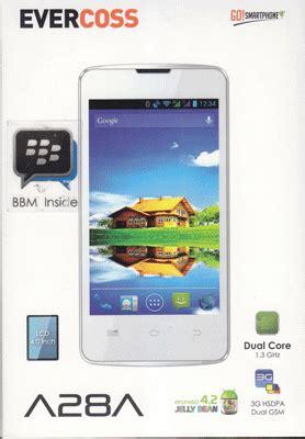 Touchscreen Cross Evercoss A28a evercoss a28a ponsel jelly bean dual murah