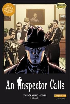 an inspector calls york 144798045x an inspector calls the graphic novel original text by j b priestley will volley waterstones