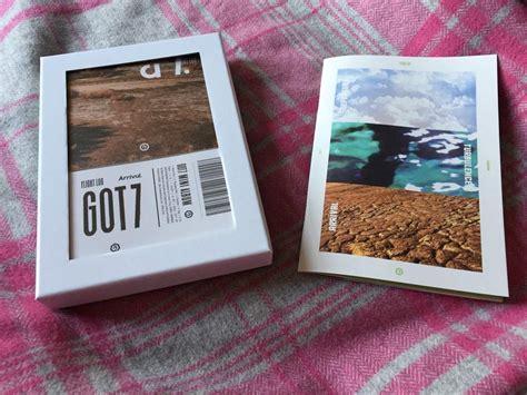 Got7 Arrival Album Logbook unboxing got7 s flight log arrival ver k pop amino
