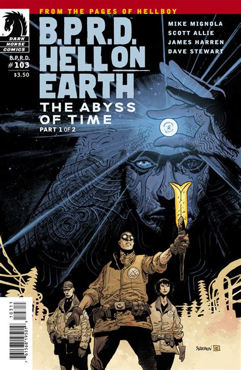review b p r d hell on earth the transformation of j h comic book review b p r d hell on earth 103 the abyss of time part 1