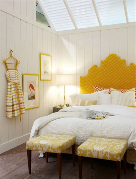 46 Yellow Headboard Bedroom Interior Design Ideas Yellow Bedrooms Images