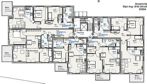 Grundriss Wohnung 6 Zimmer by L Baumbach Baugesellschaft Mbh Friedland