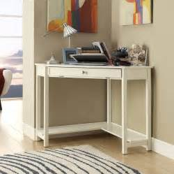 Small Home Office Corner Desk Small White Corner Desk With Single Drawer For Laptop