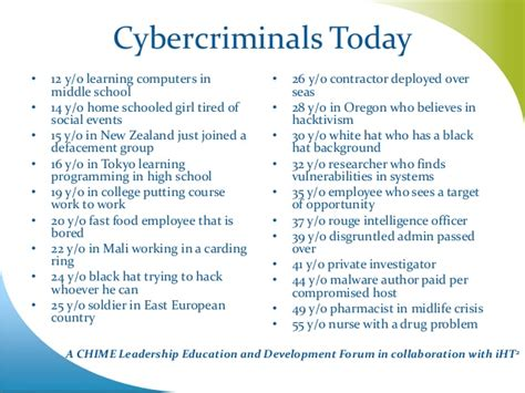 Is Getting Your Mba In Cyber Secuity Worth It by Chime Lead New York 2014 Opening Keynote Quot What Is Cyber