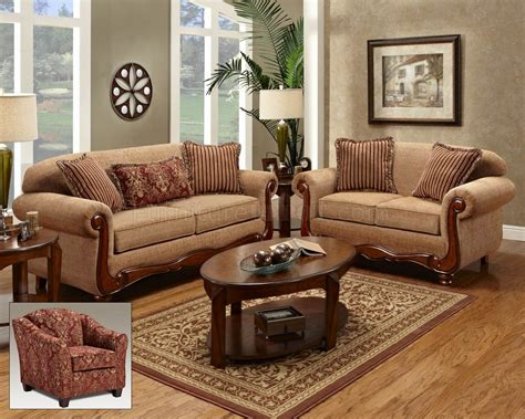 traditional sofas and loveseats beige fabric traditional loveseat sofa set w options