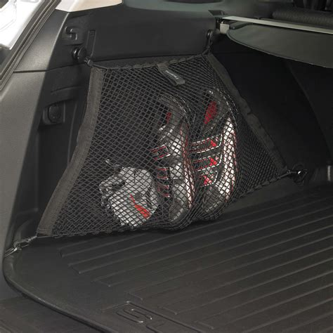 subaru outback cargo net rear side compartment set 2