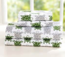preppy turtle sheet set bedroom