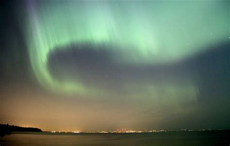 Northern Lights Mn Tonight Northern Lights Put On A Show In Minnesota Skies Photos