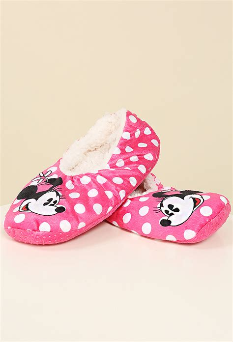 minnie mouse shoe slippers minnie mouse house slippers shop shoes at papaya clothing