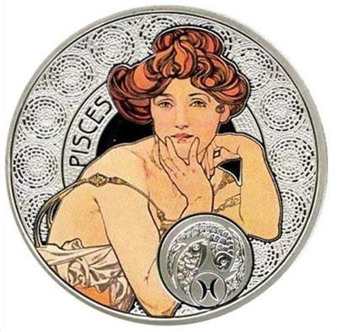 Master Brt Scorpio Seri S 2 serie de monedas quot a mucha signos zodiaco quot pisces